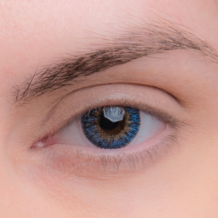 Цветные линзы EOS 324 Blue