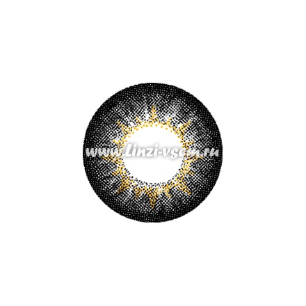 Цветные линзы EOS Luna Black Фото 4